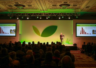 hoseasons-conference-stage-set