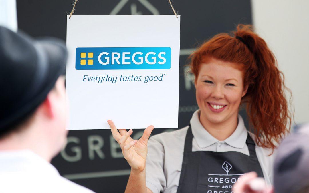 Greggs foodie festival prank