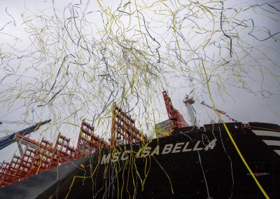 MSC Isabella Naming Ceremony