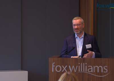 Fox Williams HR Seminar Filming
