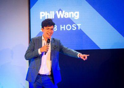 Awards Event Host AV Production Video Wall